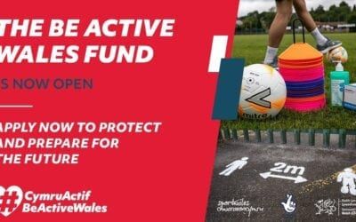 Be Active Wales Fund supports community clubs and organisations through the pandemic