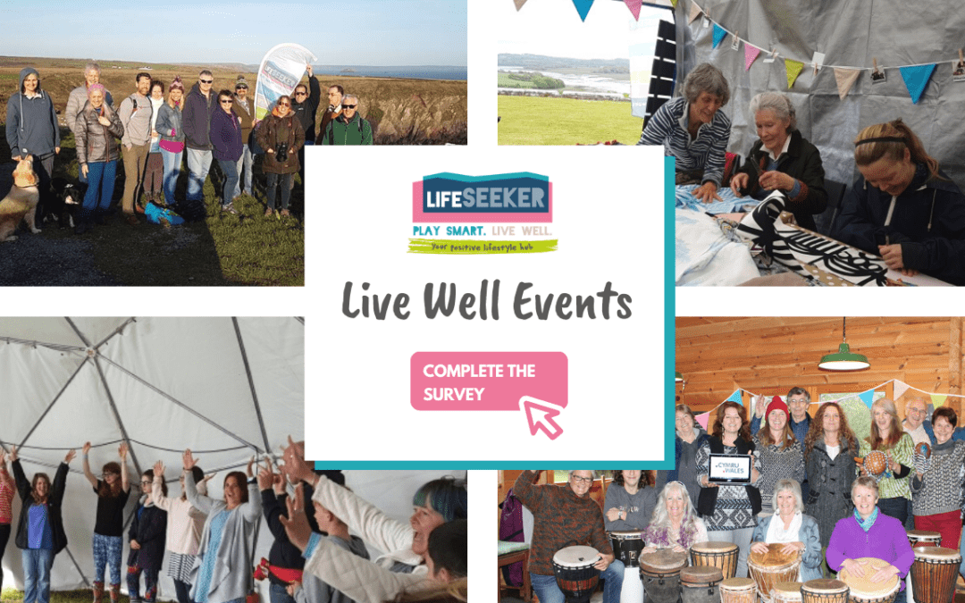 Community invited to shape 'live well' events in west Wales