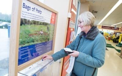 The Tesco Community Grant, Bags of Help, Reopens on 1st April 2021
