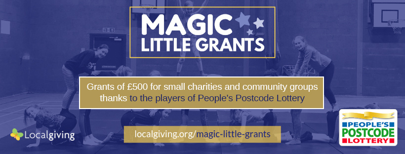 Magic Little Grants: a 10 minute application for up to £500