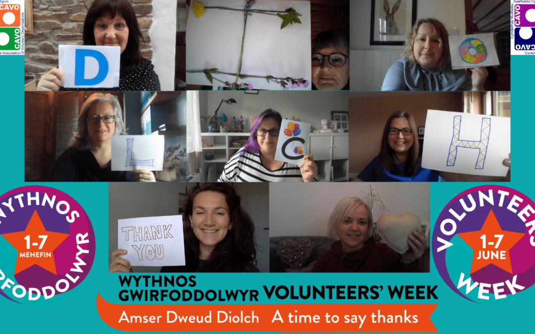 It's Volunteers Week and we are saying THANK YOU