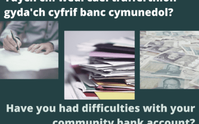 Have you had difficulties with your community bank account?